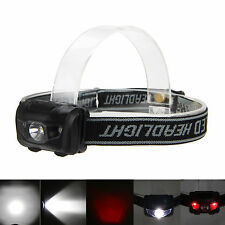 600LM Super Bright R3+2LED Mini Headlight Headlamp Flashlight Torch Light Lamps