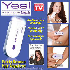 Yes! Finishing Touch Hair Remover