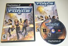 Mobile Light Force 2 GAME & CASE for your Playstation 2 PS2 system GC