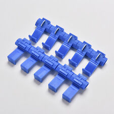 50PCS Blue Electrical Cable Connectors Quick Splice Lock Wire Terminals Crimp hc