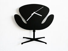 Arne Jacobsen Swan Armchair - Classic Furniture - Wall Clock