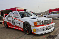 MERCEDES Benz 190e 2,3-16 EVO 1/2 DTM-homologation-w201 racing sport automobile