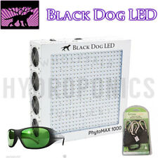 Black Dog LED:PhytoMAX1000W Grow Light:Free Method Sevens & Rachet Light Hangers