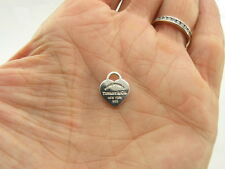 Return to Tiffany & Co New York Sterling Silver Heart Tag Pendant Charm Mini Sm.