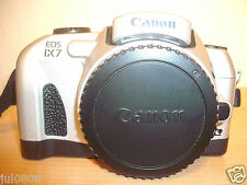 CANON EOS IX7 APS FILM SLR CAMERA BODY~PANORAMA~QUARTZ DATE~SHOOTING MODES 31J12