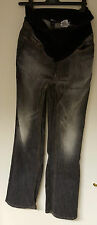 Ladies H&M Mama Jeans Size Medium with elasicated turnover waist