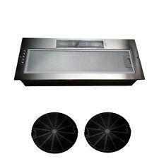 New Kitchen Cooker Canopy Extractor Hood Fan 750mm 75cm Twin Motor Model Sale