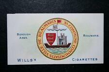 Beaumaris   Anglesey   Coat of Arms     Vintage Card   VGC