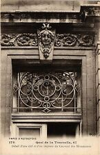 CPA PARIS 5e-Quai de la Tournelle-Détail d'une clef et d'un imposte (324891)