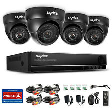 SANNCE 800TVL 8 Channel 960H HDMI DVR Outdoor CCTV Home Security Camera System