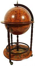 Bar Globe Drinks Cabinet  Antique Vintage Brown
