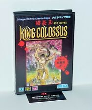 JEU SEGA MEGADRIVE VERSION JAPONAISE KING COLOSSUS