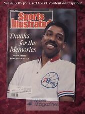 SPORTS Illustrated May 4 1987 JULIUS ERVING Pete Weber Dal Ellis Bo Jackson