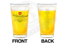 DOTA2 2014 TI4 Pubstomp Pub Stomp Pint Glass - GENUINE (NOT FROM CHINA)