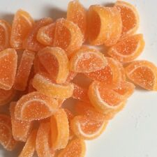 Edible Mini Jelly Fruit Slices - Edible Sugar Cake Decorations - Novelty Sweets