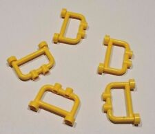 Barrieres LEGO yellow fence 4083 / Set 4025 4512 7945 7994 7993 6097 7744 7754..