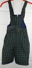 INSULATED Blue Green Plaid SKI BIBS PANT Snow Board Angels BOYS GIRLS 24 Months