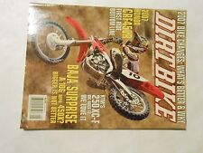 SEPTEMBER 2006 DIRT BIKE MAGAZINE,HONDA CRF450R,BAJA SURPRISE,KTM 250XC-F,AMA
