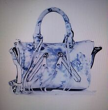 NWT REBECCA MINKOFF Micro Moto Tie-Dye Leather Satchel  $295