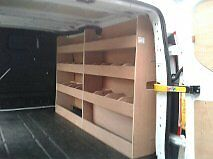 Transit Custom SWB Racking System Ply Shelving Storage accessories