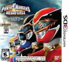 3DS ACTION-POWER RANGERS MEGAFORCE 3DS NEW