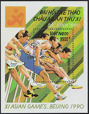 VIETNAM Bloc N°58** Bf Sport Asian games (Chine) Beijing 1990, VIETNAM Sheet NH