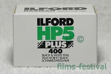 5 rolls ILFORD HP5 400 Plus 35mm 36exp Black & White Film