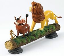 Disney Enchanting Lion King Hakuna Matata Simba Pumbaa Timon Figure 16cm A27708