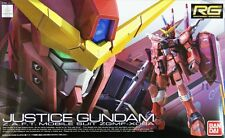 Bandai RG-9 RG Justice Gundam Z.A.F.T. Mobile Suit ZGMF-X09A 1/144 scale kit