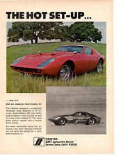 1969 FIBERFAB JAMAICAN V8 KIT CAR  ~  GREAT ORIGINAL PRINT AD