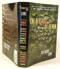THE REVENGE OF SEVEN, Pittacus Lore, SIGNED, 1st/1st, New