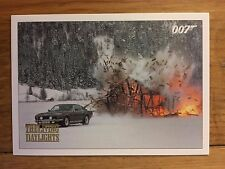 James Bond Spectre Edition 2016 Living Daylights Parallel Gold Card 25 074/125