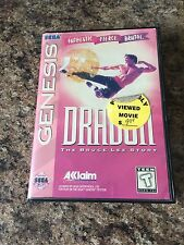 Dragon: The Bruce Lee Story Sega Genesis Cib Game Tested Works SB3