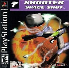 Shooter Space Shot black label Brand NEW factory sealed Playstation 1 one