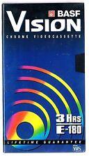 VHS VIDEOCASSETTA BASF E-180  CHROME  SIGILLATO!!!