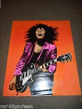 MARC BOLAN - ORIGINAL ROLLED HAND-COLORED PROMO POSTER