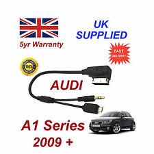 AUDI A1 Series cable For SAMSUNG Galaxy 4 AMI MMI Micro USB & AUX 3.5mm Cable