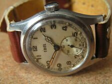 Vintage British Army Contract Wristwatch - A.T.P. by EBEL, S/S Case, Early WW2