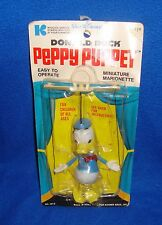 Vintage 1970 Donald Duck Peppy Marionette Carded