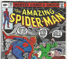 The Amazing Spider-Man #192 J.J.Jameson & Smythe from May 1979 in VG/F Condition