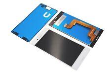 Sony Xperia M4 Aqua E2303 LCD Display Touch Screen Glas Original Cover white