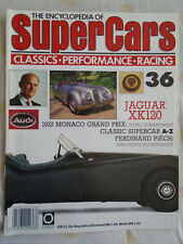 Encyclopedia of Super Cars 36 Jaguar XK120
