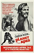 PLANET OF THE APES movie poster (c) CHARLTON HESTON