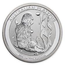 2015 Australia 1 oz Platinum Platypus BU - SKU #88003