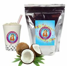 Coconut Boba / Bubble Tea Powder by Buddha Bubbles Boba (1 Kilo | 2.2 Pounds)
