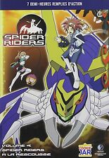 Spider Riders Vol.4: A la Rescousse (French Version) DVD NEW