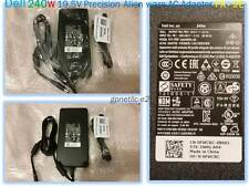 NEW Dell 240W 19.5V Precision Alienware AC Adapter PA-9E FWCRC, FHMD4