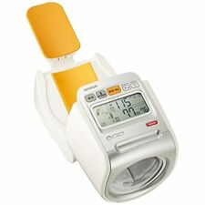 Omron HEM-1020 Spot Arm Digital Automatic Blood Pressure Monitor ABS Resin.