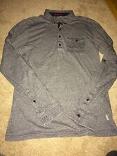 Men's Ted Baker Long Sleeve Polo Shirt Size 3