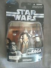 STAR WARS SANDTROOPER AVEC ARME - SAGA COLLECTION - ANNEE 2006 - REF 1100